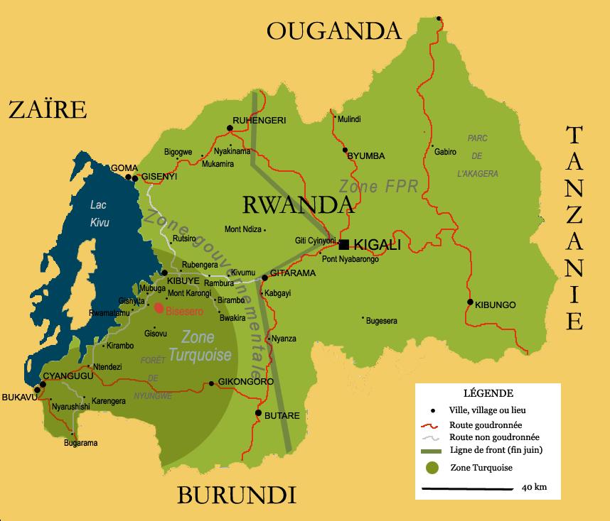 Carte rwanda big